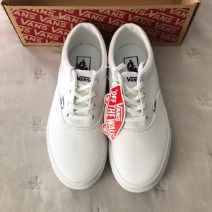 Vans doheny platform white 8.5